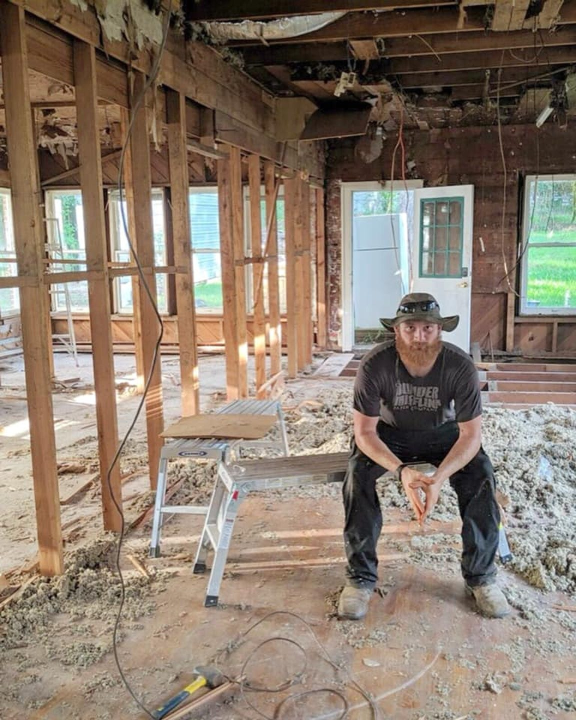 Photos from Catahoula Homes that show the renovation of the College Street house they recently completed in Highland.