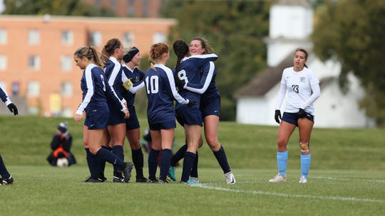 The Augustana soccer team reached the second round of the NCAA tournament in 2019.