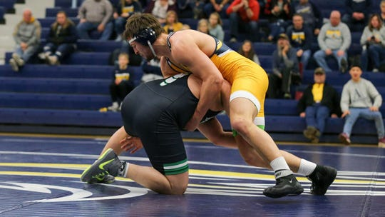 The Augustana wrestlers finished second in the NSIC.