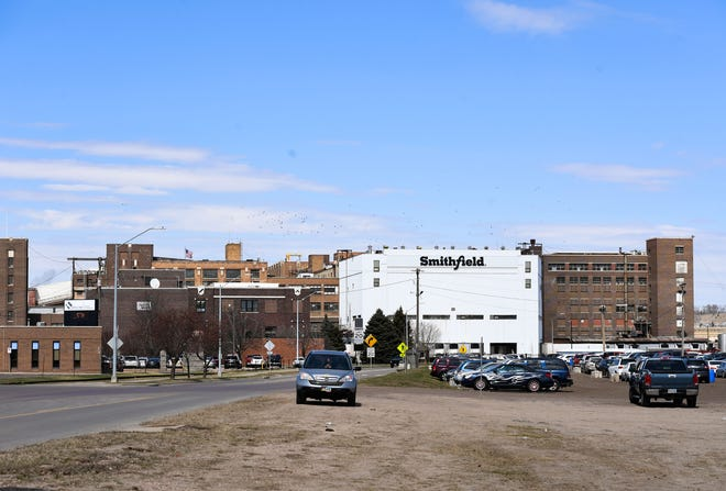 Smithfield Foods, Inc. seen on Wednesday, April 8, in Sioux Falls.