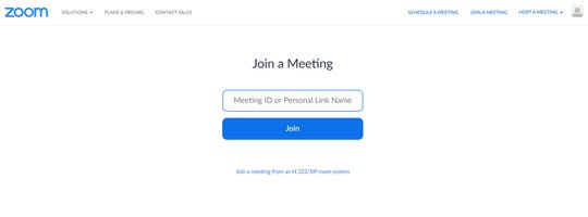 When using the Zoom app to videoconference with family, friends or work colleagues, set up a meeting link and a password to keep strangers from interrupting, the Better Business Bureau advises.