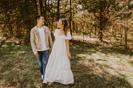 Couple Jacob and Paige Lasc had to change their wedding plans due to COVID-19 and married during a small ceremony in Polk County on March 29, 2020.