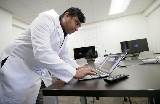 UTEP's Dr. Suman Sirimulla, professor of Medicinal Chemistry, is working on a cure for COVID-19 from his lab.