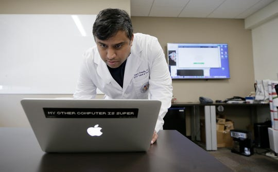 UTEP's Dr. Suman Sirimulla, an assistant professor of pharmaceutical sciences at the University of Texas at El Paso, is working on a vaccine against the coronavirus from his lab.