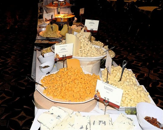 How many big cheese spreads are not being set up at big meetings not being held?  Too many!