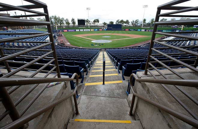 Thirty teams playing 15 games a day in the Phoenix area would require the use of Chase Field, college ballparks and spring training stadiums, such as American Family Fields in Maryvale.