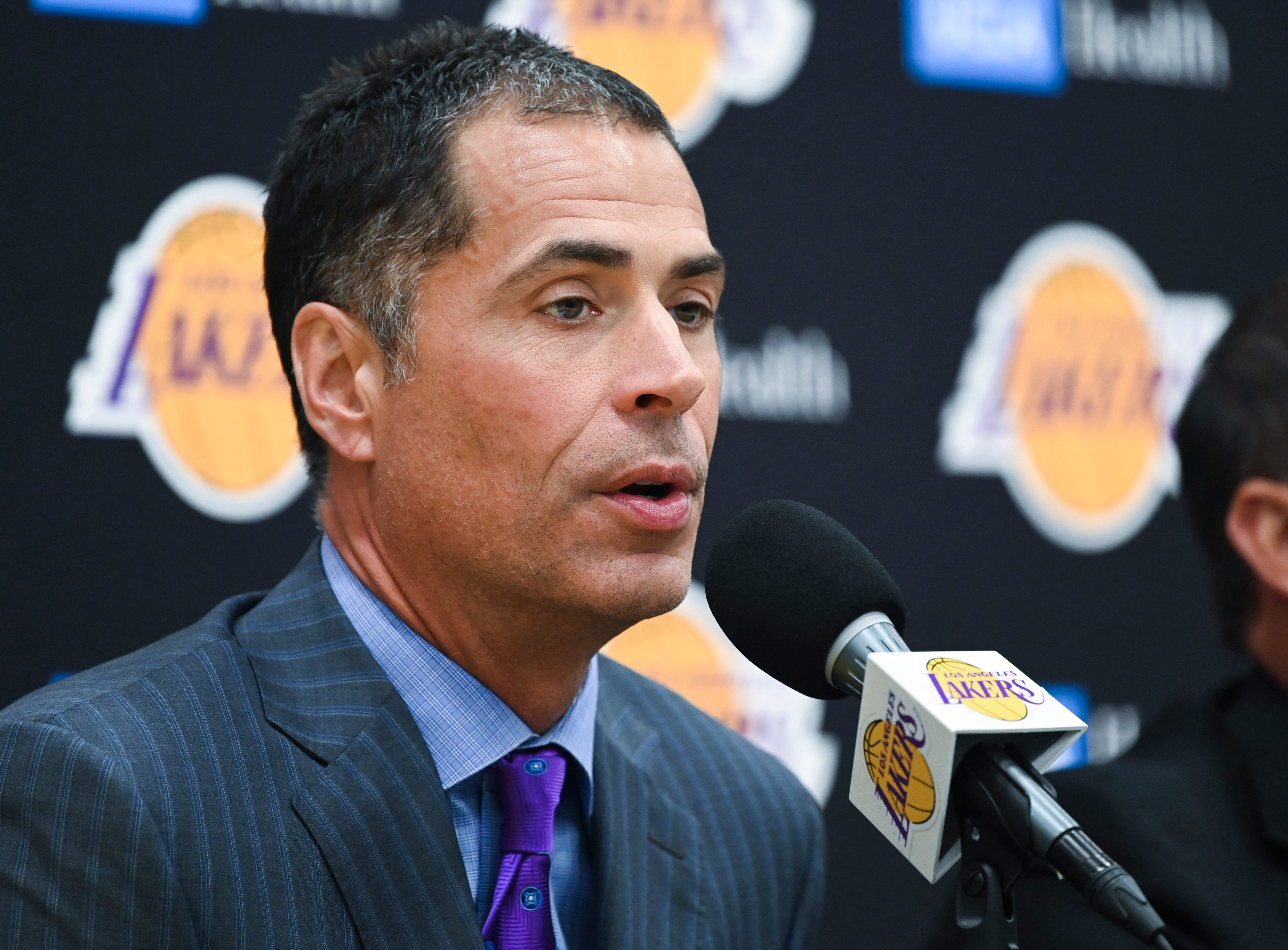 Opinion: Lakers  GM Rob Pelinka fulfills his promise to make championship roster even better