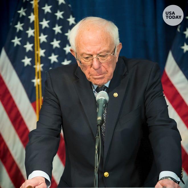 Senator Bernie Sanders suspends campaign for president