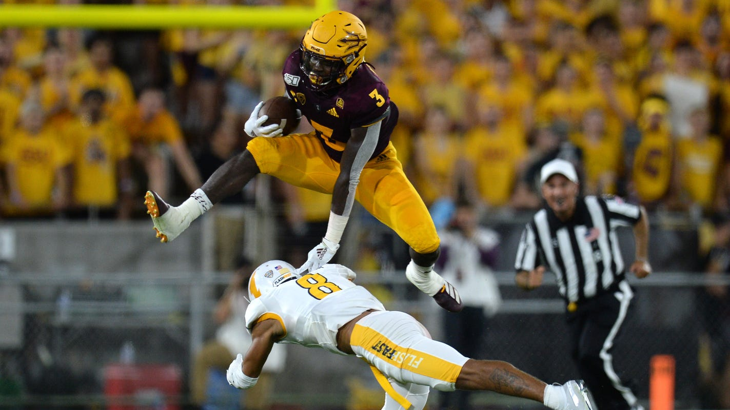 Arizona State RB Eno Benjamin adapts on fly as he prepares for NFL draft