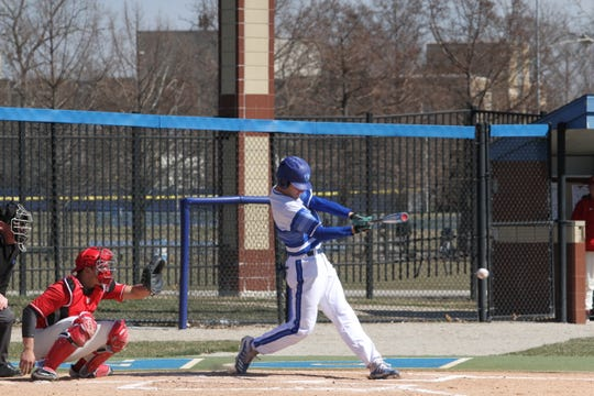 Grant Emme batted .349 during his breakout freshman year with Eastern Illinois.