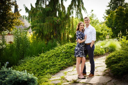 Megan Thibodeau and Derek Loda pushed their April wedding in Green Bay back to July because of the coronavirus pandemic.