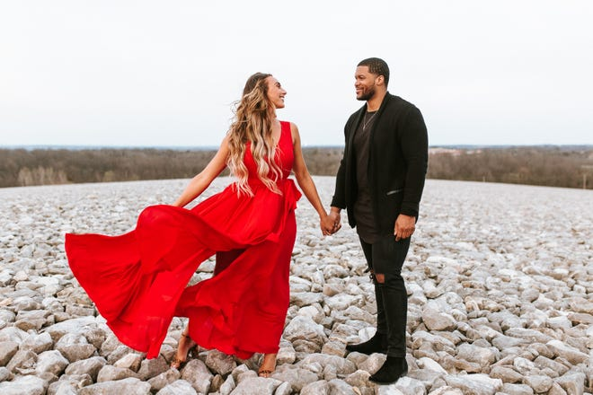 Madelaine Endres and DeVonte' Majors decided to reschedule their May wedding in Fond du Lac for August because of the coronavirus pandemic.