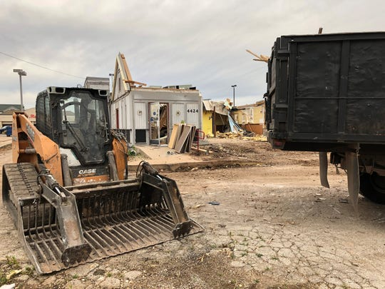 The Long John Silver's at 4424 Buffalo Gap Road in front of Market Street is being demolished to make way for a Hendrick Health System urgent care clinic.