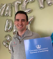 Anthony Schramm, of Vestal, will start anesthesiology research at Columbia Medical in July.