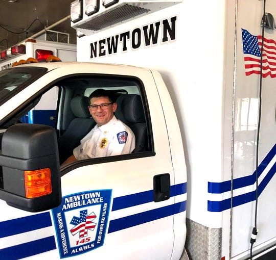 "Chief Evan Resnikoff, president of Bucks County EMS Chiefs Association and Newtown EMS Chief. ""The question as we go out is: ""Am I going to get exposed on this call? It's not a matter of if we are going to get exposed; it's when."""