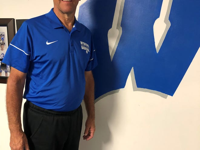 Steve Mohr is in his second stint as Wynford's boys basketball coach.