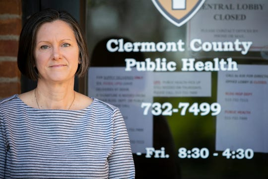 Julianne Nesbit is the Clermont County Public Health commissioner.