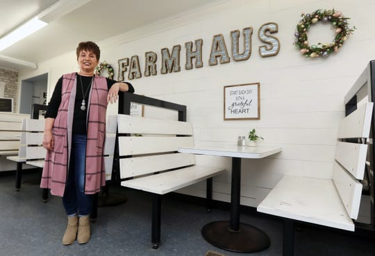 Emma Keen started cooking at the age of 10, and now runs the Newcastle Farmhaus in western Coshocton County. The restaurant is still open for carryout orders.