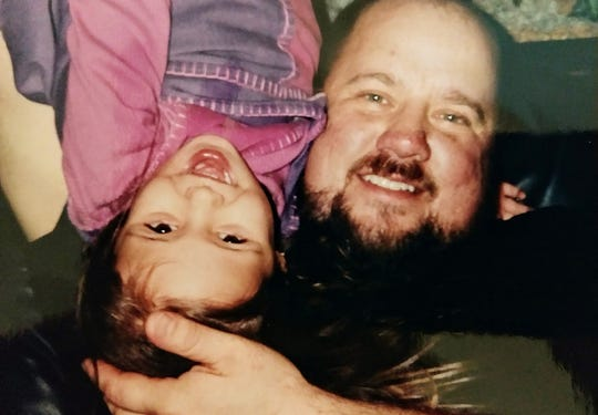 A family photo Eric Dubke and his daughter Erica. Eric died on March 16 of COVID-19.