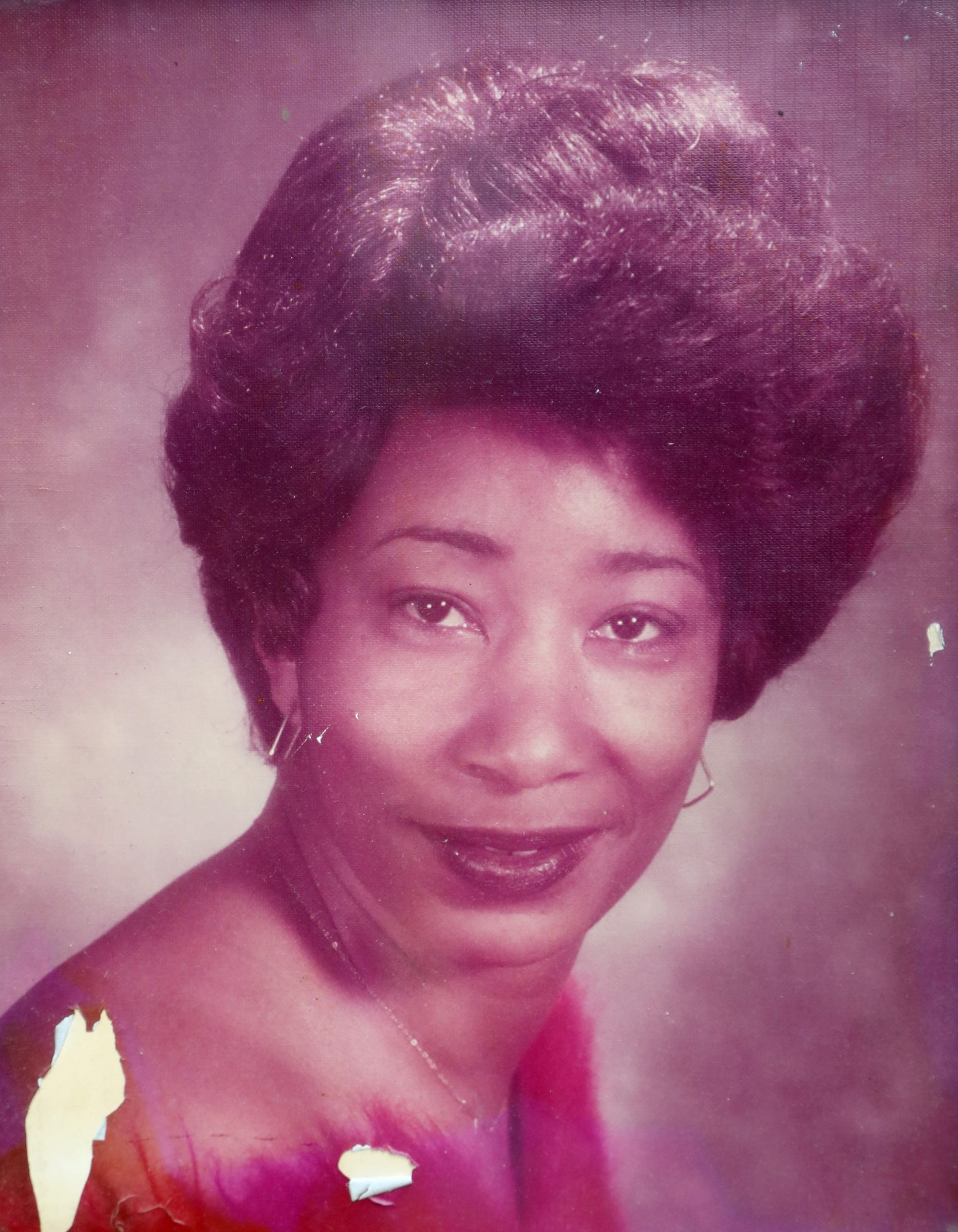 A handout photo of Mildred Hill, who died on April 7, 2020, after being diagnosed with COVID-19.