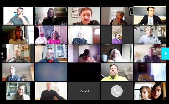 More than 50 participants attended the April 4 Charlevoix City Council meeting. The meeting was conducted virtually through ZOOM.