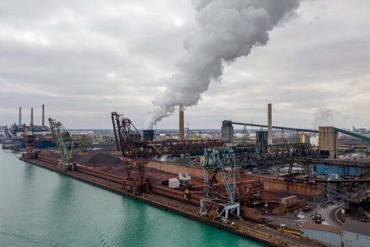 Researches ultimately blamedthe humon the U.S. Steel plant on Zug Island.