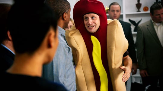 "Tim Robinson in the Hot Dog Car sketch in ""I Think You Should Leave."""