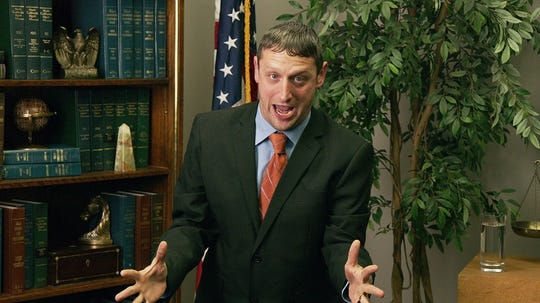 "Tim Robinson in ""I Think You Should Leave's"" ""Has this ever happened to you?"" sketch."