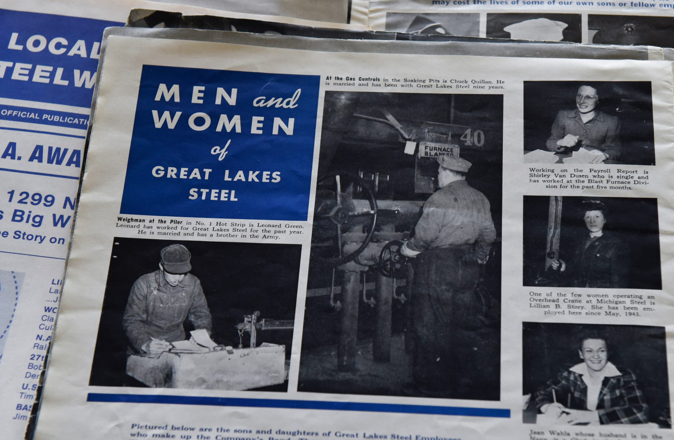 Historic photos from Great Lakes Steel on Zug Island, Thursday, April 9, 2020.