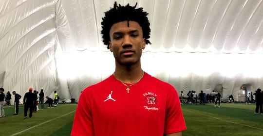 Roseville receiver Tyrell Henry was offered a scholarship this week by Michigan.