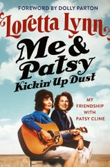 """This cover image released by Grand Centra shows """"Me & Patsy Kickin' Up Dust: My Friendship with Patsy Cline"""" by Loretta Lynn. (Grand Central via AP)"""