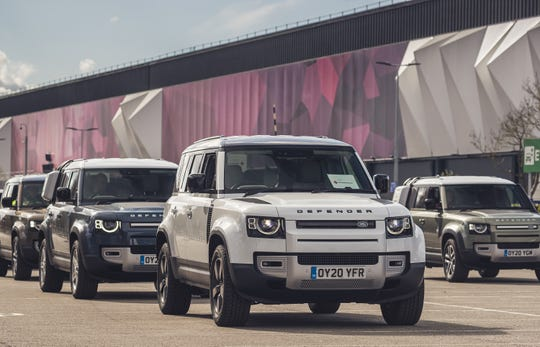 Jaguar and Land Rover announced they are providing more than 160 vehicles to support emergency response organizations during the coronavirus pandemic.