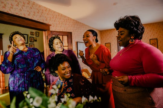 """A scene from """"The Clark Sisters: First Ladies Of Gospel."""""""
