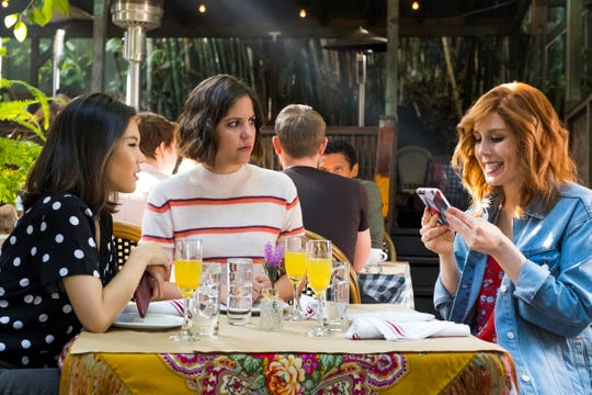 "Vanessa Bayer, right, in ""I Think You Should Leave's"" Sunday Brunch sketch."