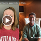 Two Evansville sports heroes - Lilly King and Don Mattingly - joined Mayor Lloyd Winnecke in sending thanks and well-wishes to area healthcare workers in this Facebook video, April, 8, 2020.