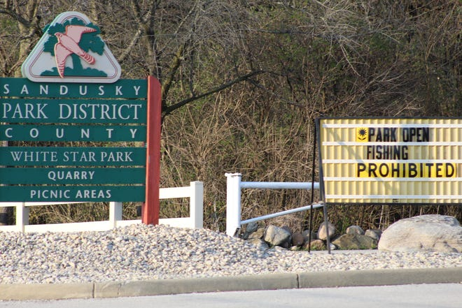 Fishing is now prohibited until further notice at White Star Park Quarry in Sandusky County, due to coronavirus concerns.