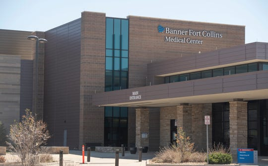 Banner Fort Collins Medical Center is located on Lady Moon Drive in Fort Collins, Colo. on Tuesday, April 7, 2020.