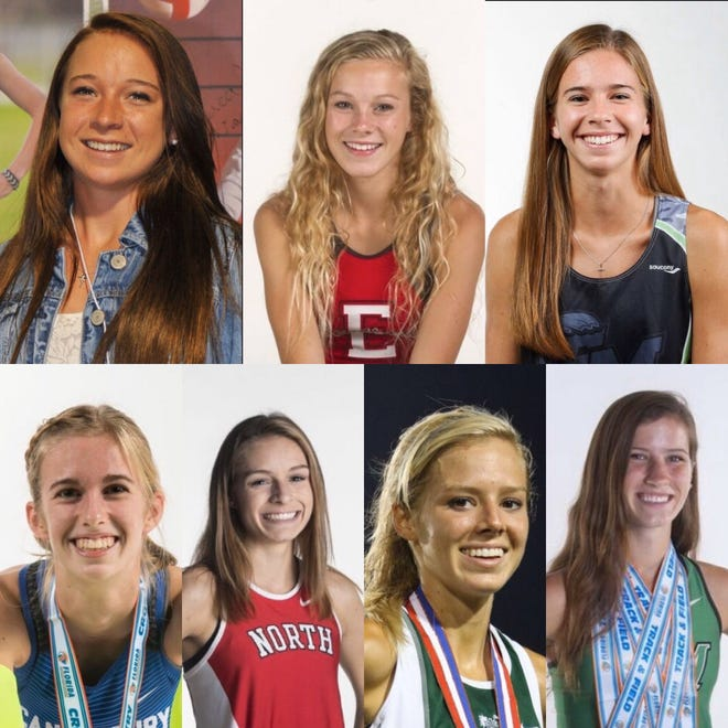 The News-Press Girls Cross Country All-Decade Team for the 2010s.