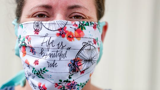 Liz Benecke, a nurse who lives in the Shawano County town of Wescott, started Wisconsin Face Mask Warriors, a statewide volunteer group that produces and distributes protective masks for health care, police and other workers. The group grew from a small effort to get masks into the hands of some of her fellow nurses.