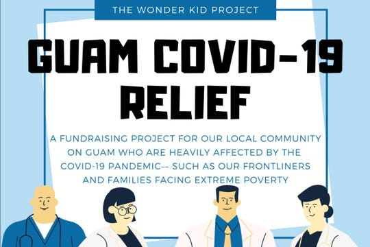 A poster for The Wonder Kid Project Guam COVID-19 Relief