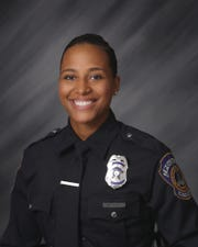 Indianapolis Metropolitan Police Department Officer Breann Leath. She was fatally shot while responding to a domestic disturbance call on the city's east side on Thursday, April 9, 2020.