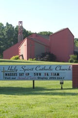 Holy Spirit Catholic Church located at Winans Lake Road and Musch Road in Green Oak Township.