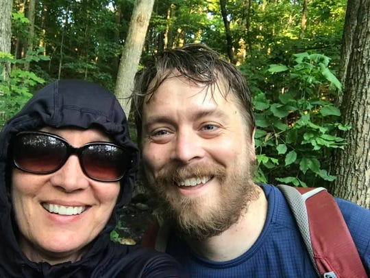 Donny Fostner and his mother, Jenny, spent several months together in the summer of 2019 hiking the Ice Age Trail.