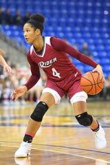 Rider senior guard Stella Johnson led NCAA Division I in scoring.