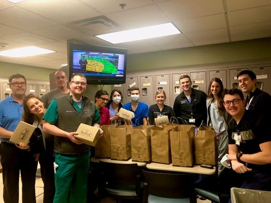 Gulch located Potbelly Sandwich Shop began delivering meals to Nashville-area nurses on the COVID-19 front lines last week.