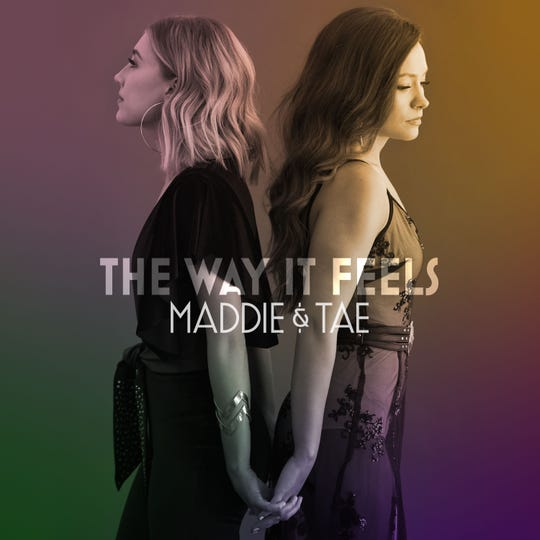 "Album cover for Maddie & Tae album ""The Way It Feels"""