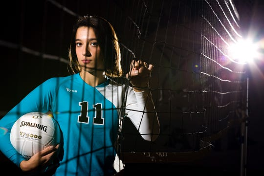 Gulf Coast High School's Mackenzie Allen was the 2013 Naples Daily News Volleyball Player of the Year.