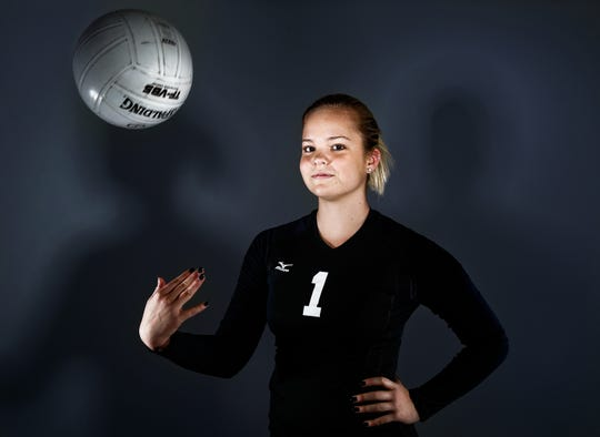 Gulf Coast High School's Kenzie Ackerman was the 2015 Naples Daily News Volleyball Player of the Year.