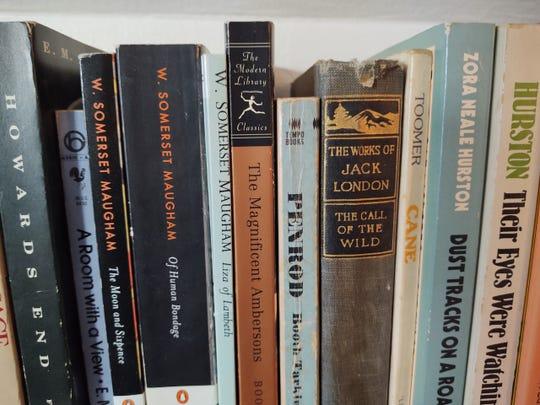 On Jim Beckerman's bookshelf