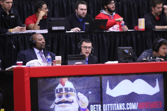 Jeremy Otto is the play by play announcer for the Detroit Mercy basketball team.